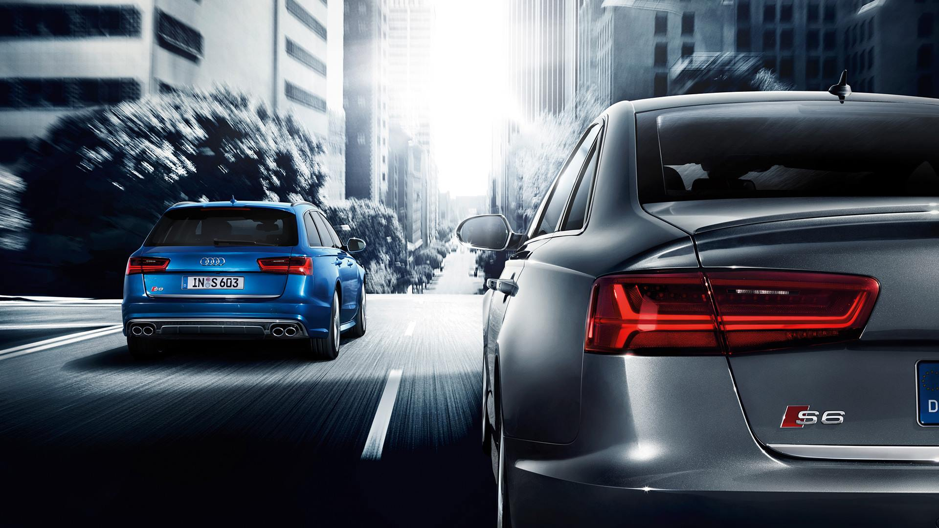 Седан и универсал Audi S6. Рестайлинг 2014