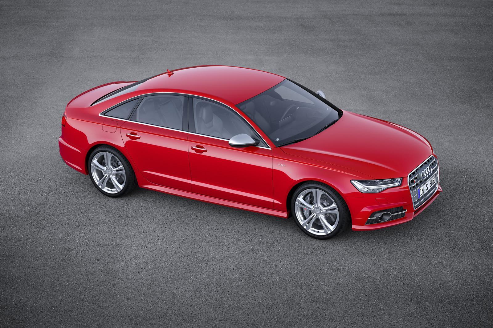Седан Audi S6, рестайлинг 2014 года