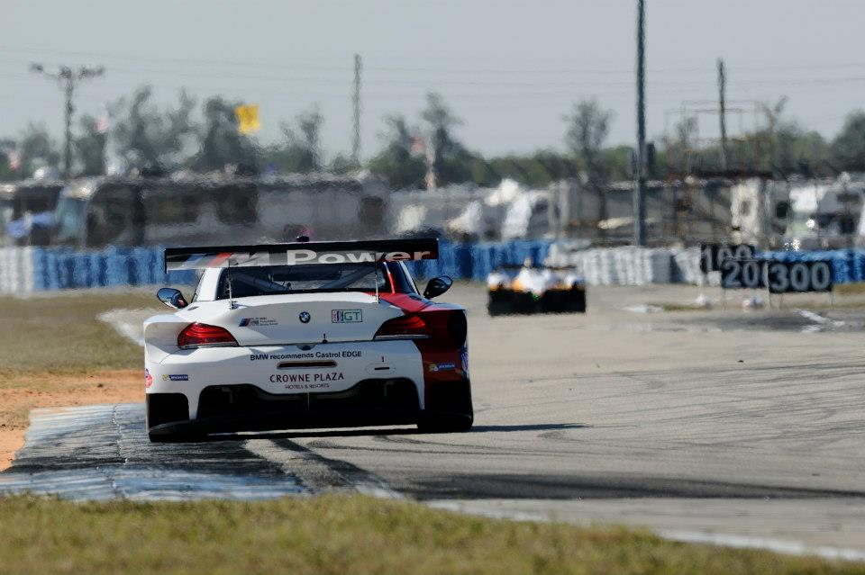 New Bmw Z4 Gte Alms Debut Autoevolution