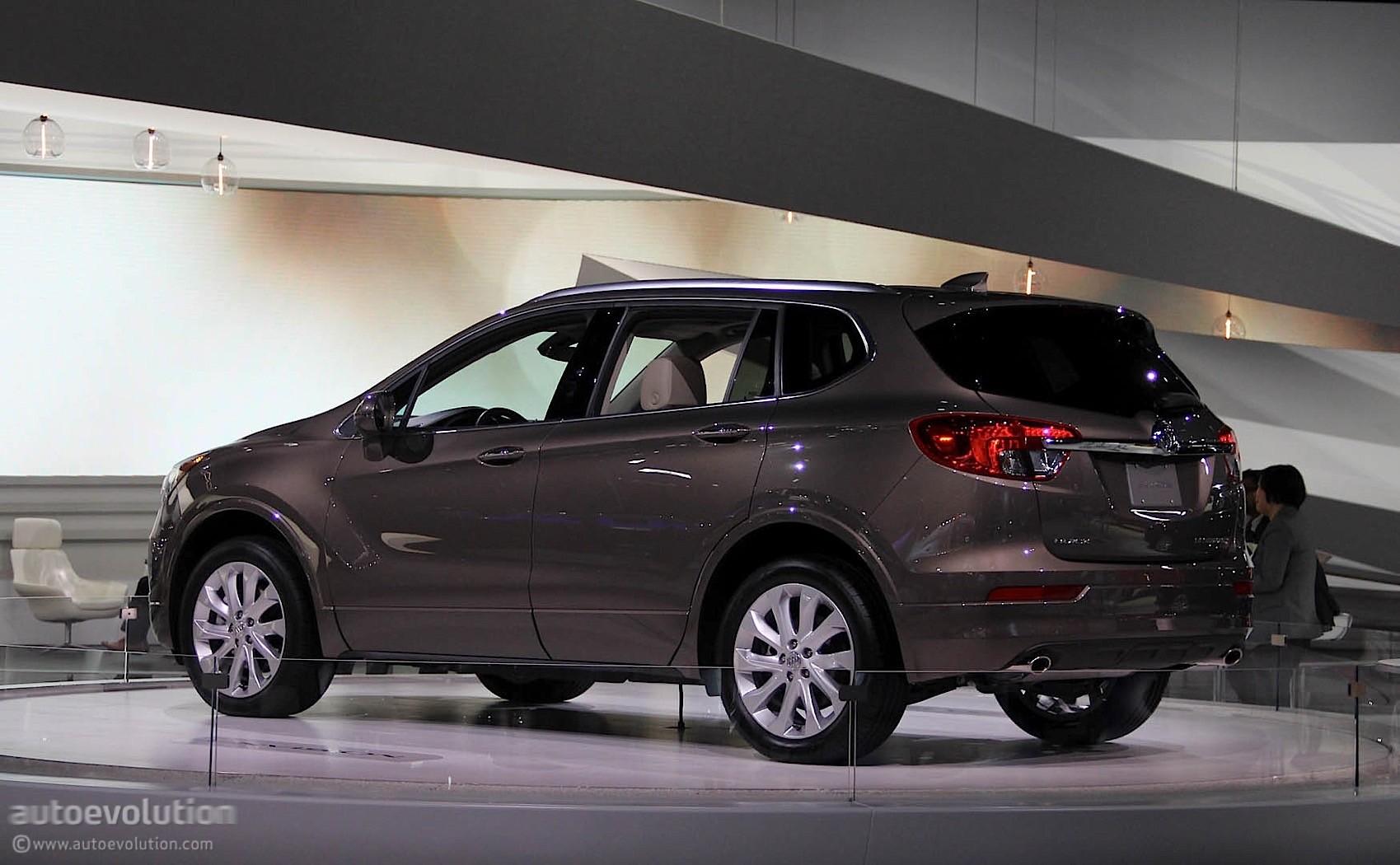 2016 Buick Envision Lands at the Detroit Auto Show - autoevolution
