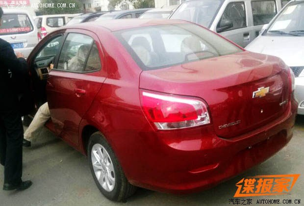 The New Chevrolet Optra Is A Rebadged Baojun on 2014 Chevy 5 3 Engine
