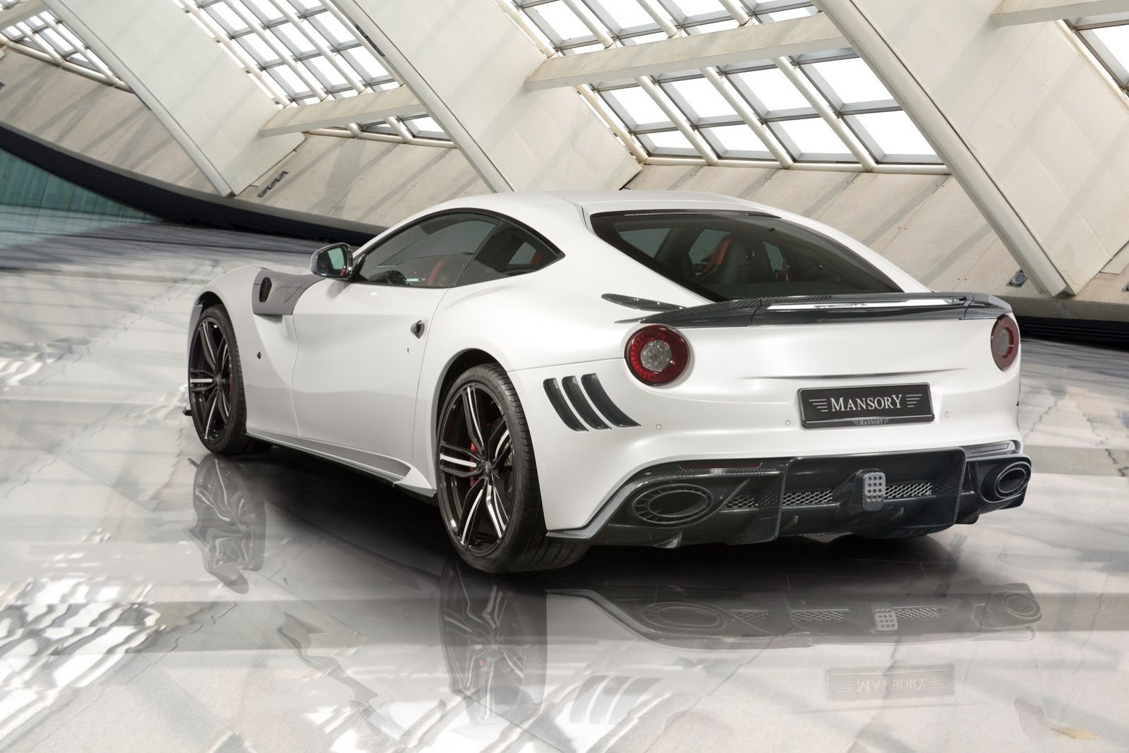 The New Ferrari F12-Based Mansory Stallone Is Revealed ...