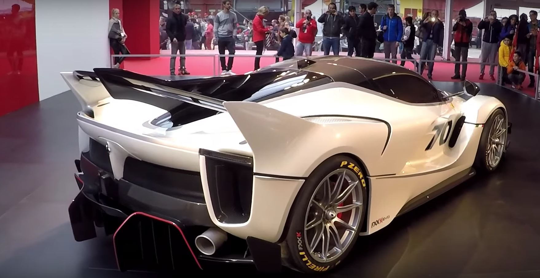 The New Ferrari Fxx K Evo Looks Gorgeous On Video Autoevolution