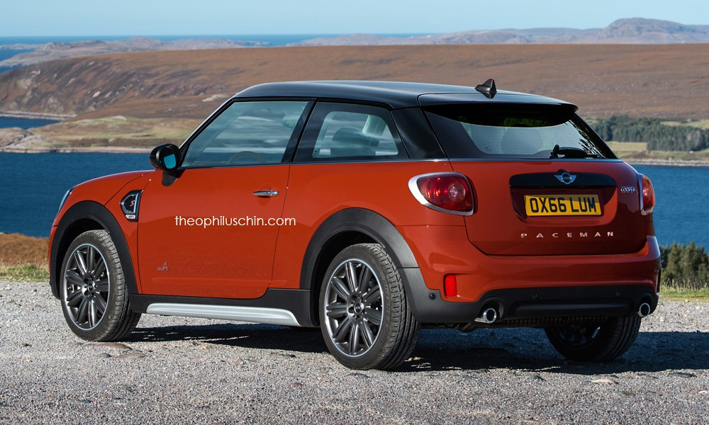 the new mini paceman would look like this may it rest in peace autoevolution. Black Bedroom Furniture Sets. Home Design Ideas