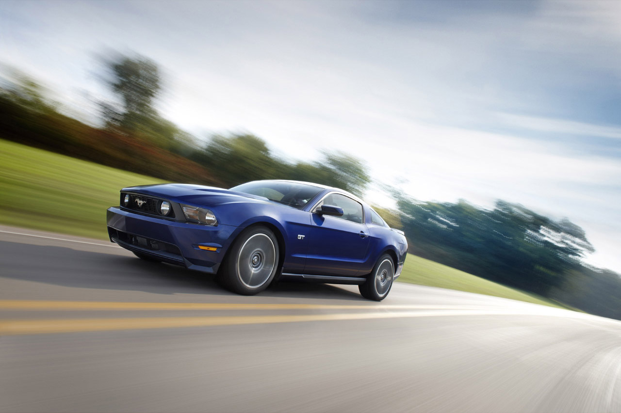 The New Mustang 2010 Gets Bad - autoevolution