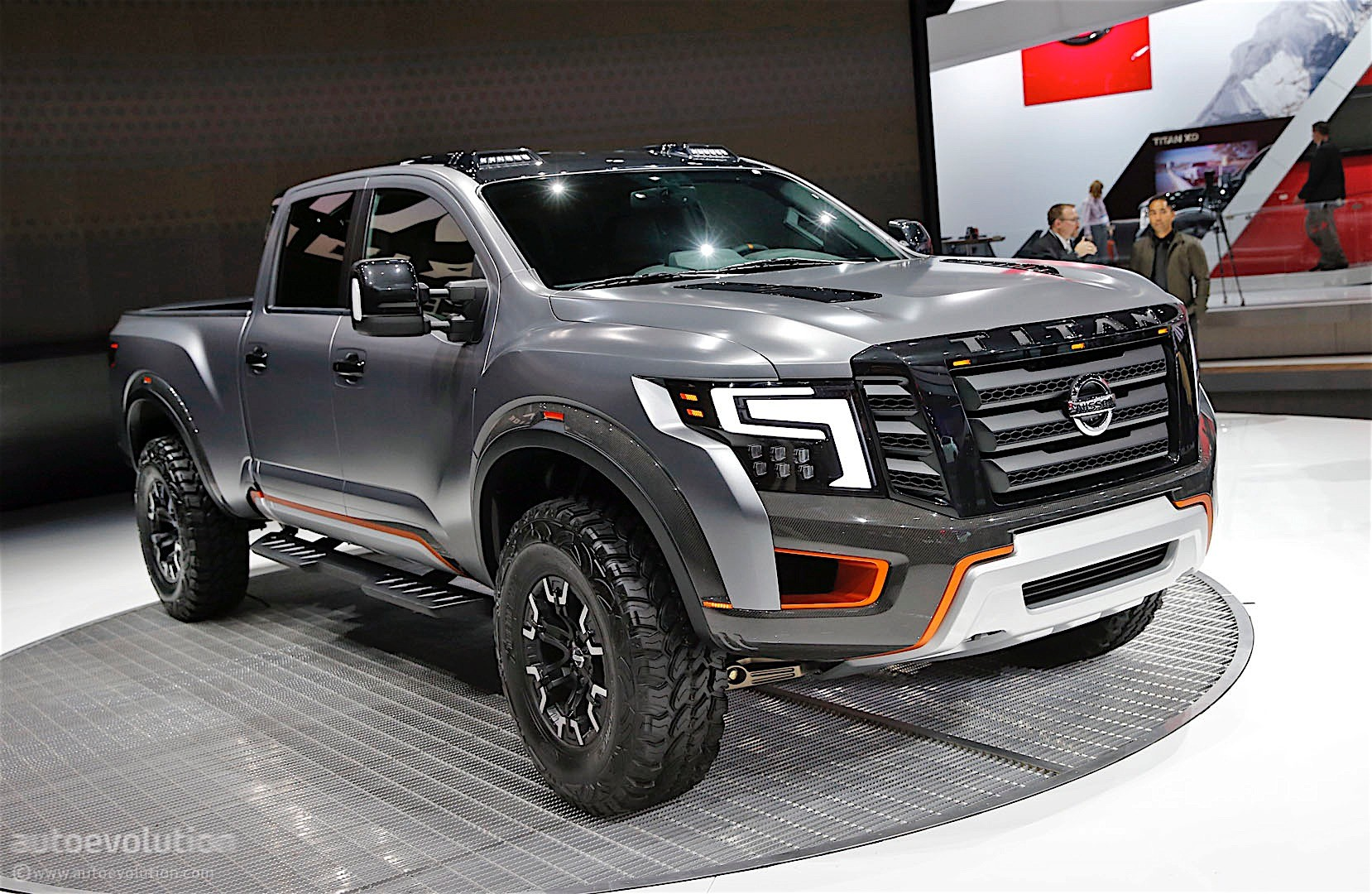 Patrol Nismo >> The Nissan Titan Warrior Concept Could Enter Production ...