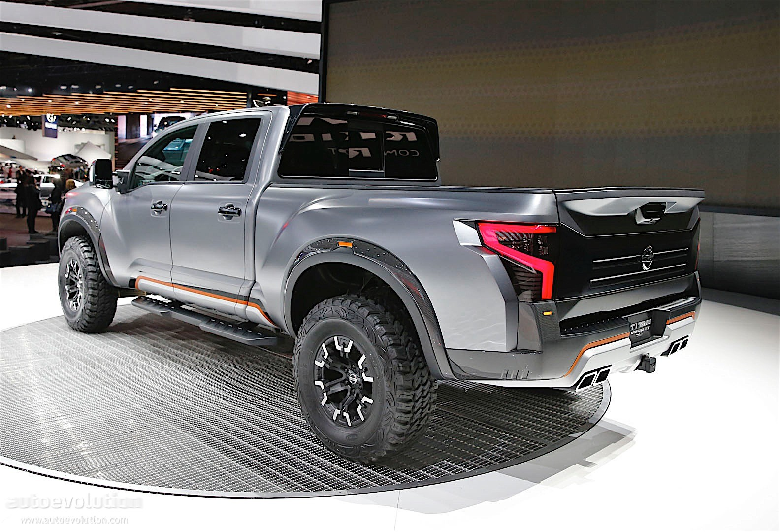 Lifted Nissan Titan >> The Nissan Titan Warrior Concept Could Enter Production ...