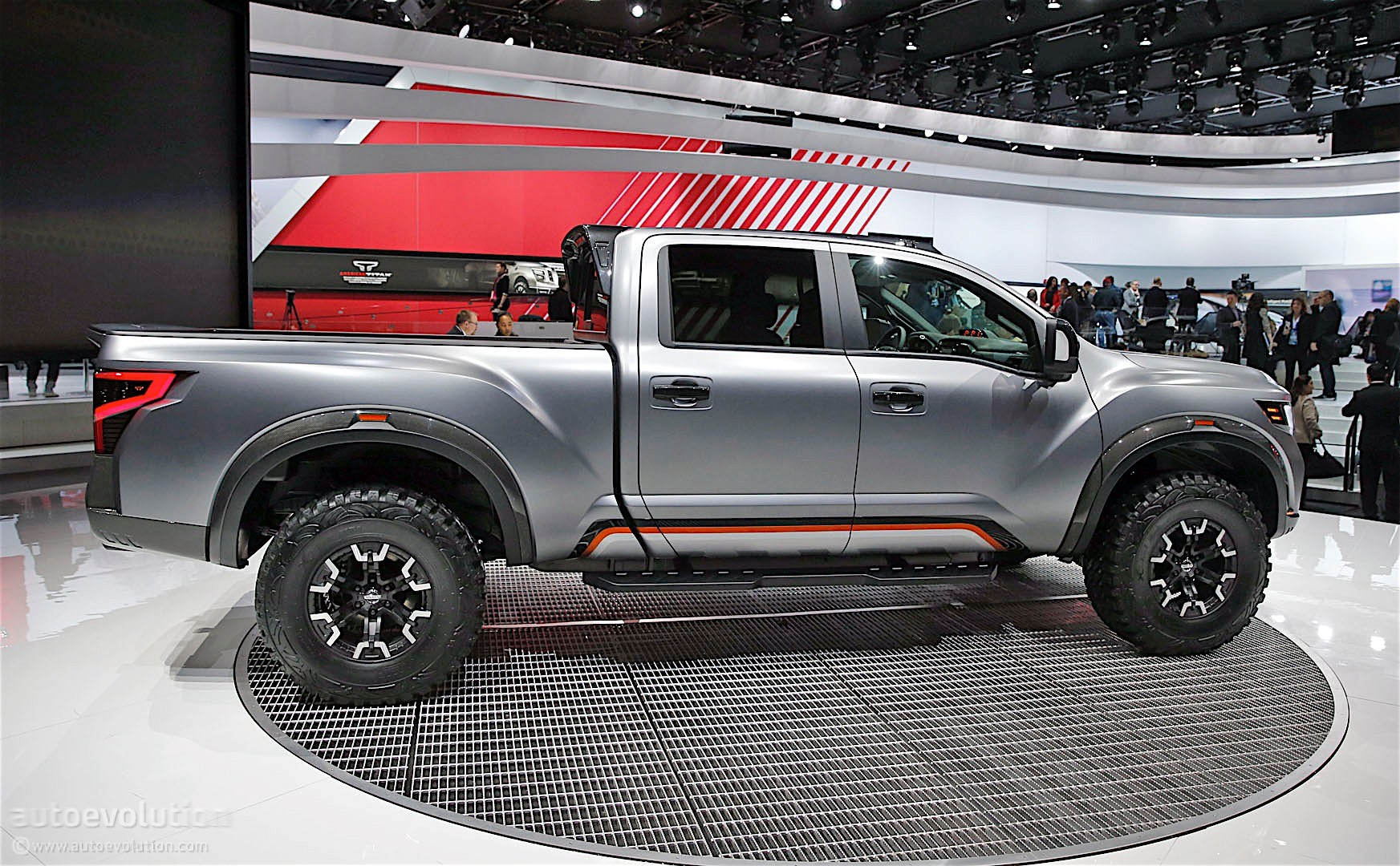 the nissan titan warrior concept could enter production autoevolution. Black Bedroom Furniture Sets. Home Design Ideas