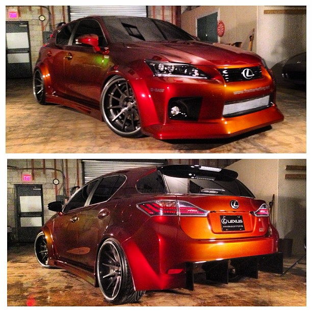 Lexus Ct 200h: The Only Supercharged Lexus CT 200h Resurfaces