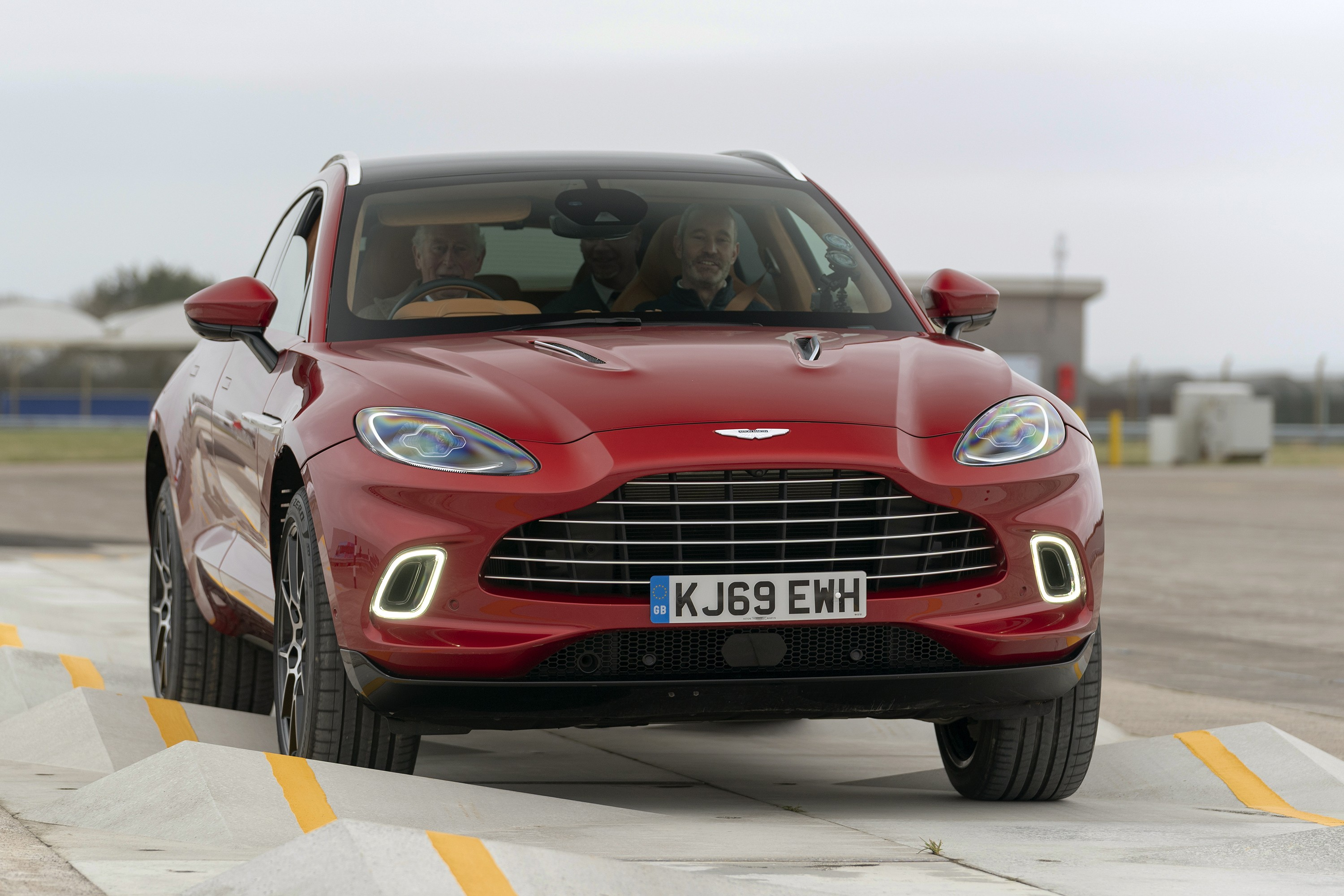 The Prince Of Wales Visits Aston Martin S Suv Factory Drives The New Dbx Autoevolution