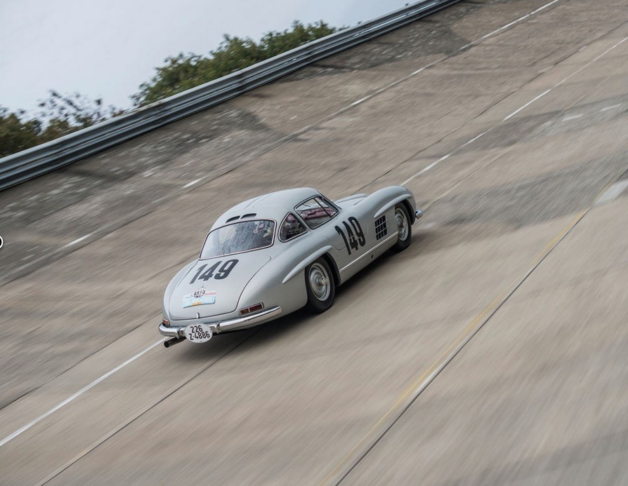 Rarest Mercedes-Benz 300 SL Gullwing Driven by Sir Stirling Moss Is ...