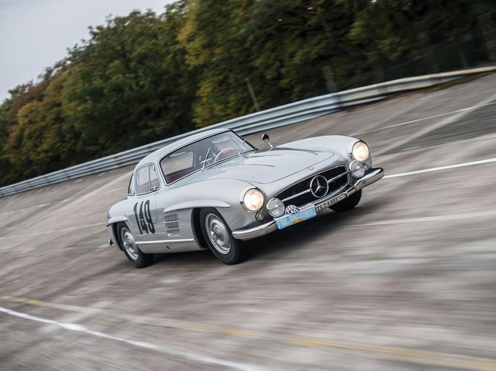 Rarest Mercedes-Benz 300 SL Gullwing Driven by Sir Stirling Moss Is ...