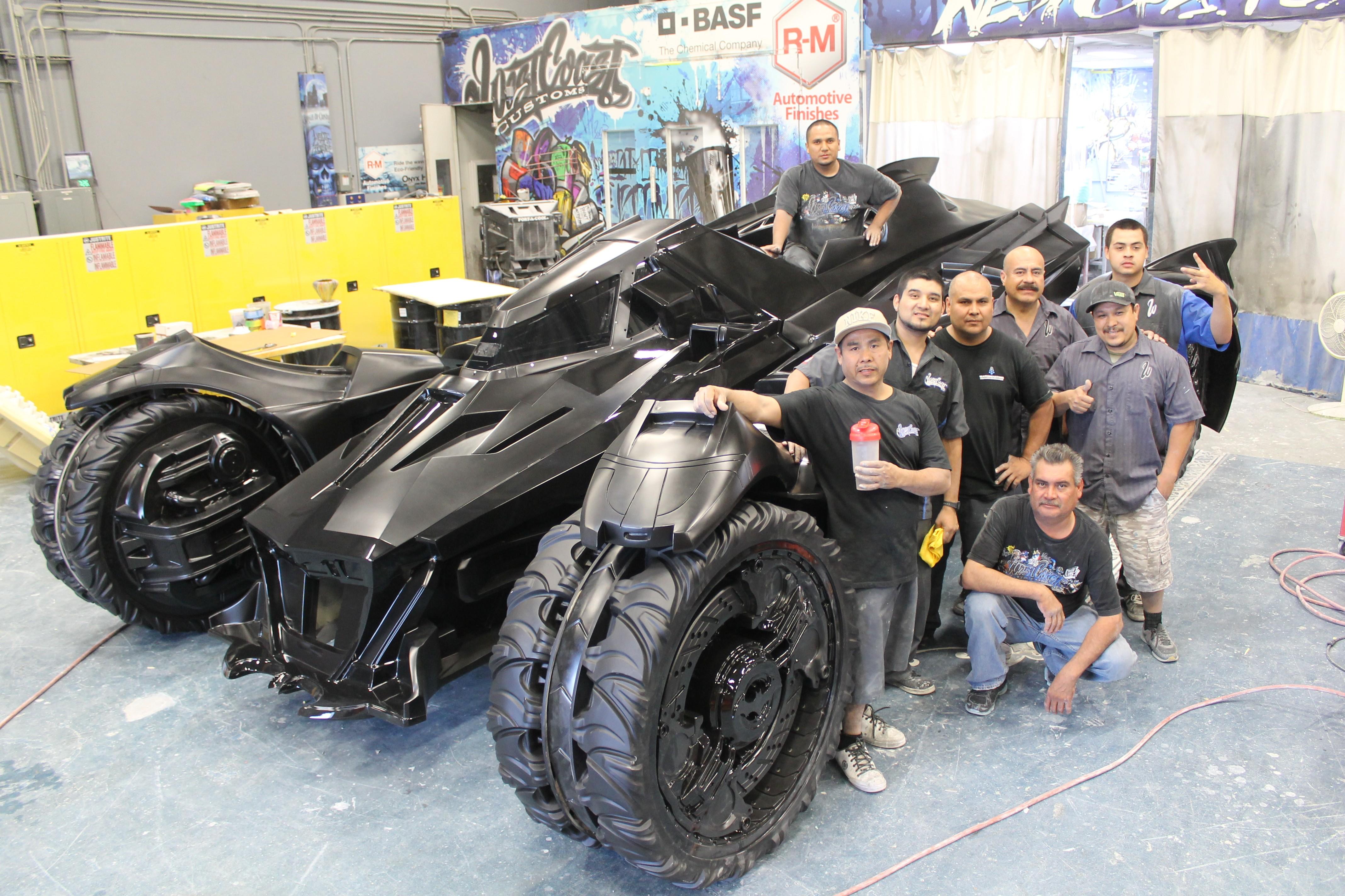 The Real Life Batmobile From Batman Arkham Knight Rocks