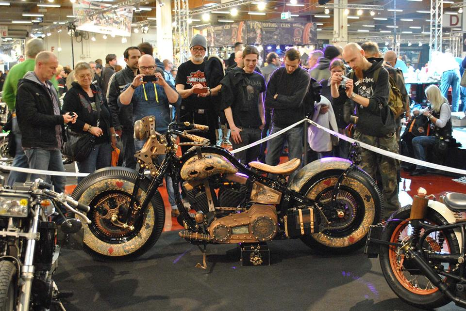 The Recidivist A Custom Harley Covered In Real Skin