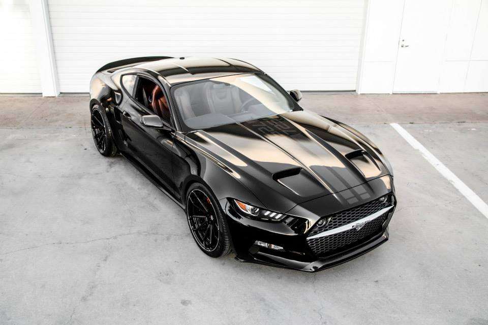 Wallpaper Mobil Sport Mustang: The Rocket Is A Batmobile-Looking Ford Mustang From Galpin
