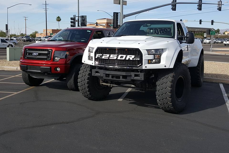 The Roush F-250 Is Not Your Average Ford Super Duty Pickup Truck - autoevolution
