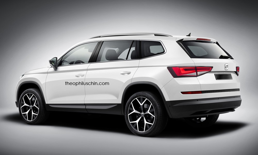 Black Kodiaq >> The SEAT Ateca Gets Rendered as the Skoda Kodiaq, Doesn't ...