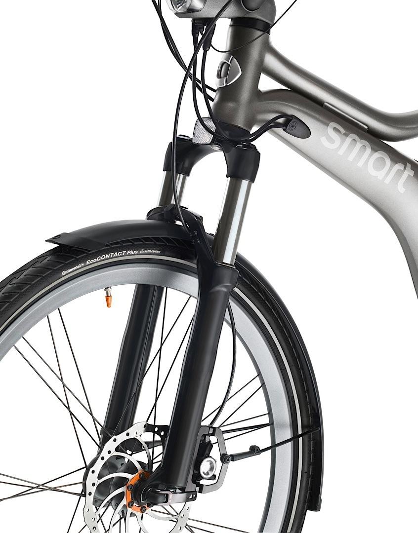 The Smart Ebike Gets New Accessories At Frankfurt Autoevolution
