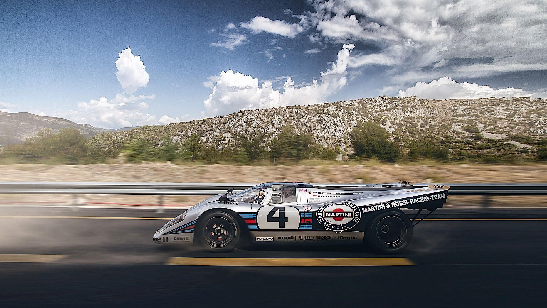 The Story Of How A Road Legal Porsche 917 Roams The