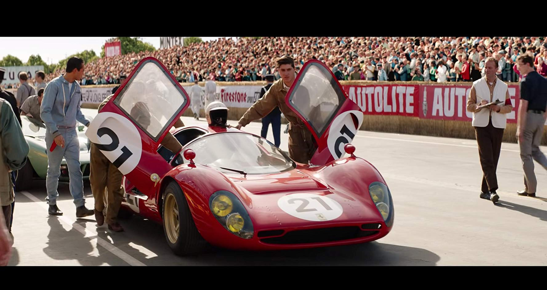 The Stunts Of Ford V Ferrari Look And Feel Real Because They Are Autoevolution