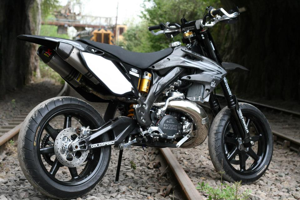 The Taffy Racing Black Diamond Honda Supermoto Xxx