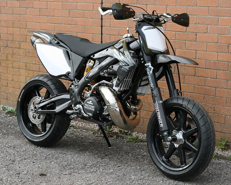The Taffy Racing Black Diamond Honda Supermoto Xxx