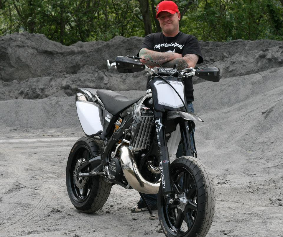 The Taffy Racing Black Diamond Honda, Supermoto XXX