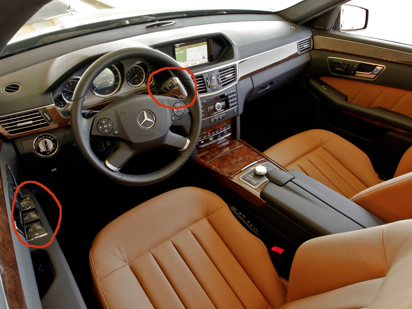 Tesla Model S Interior Mercedes Benz E Cl W212 Pre Facelift