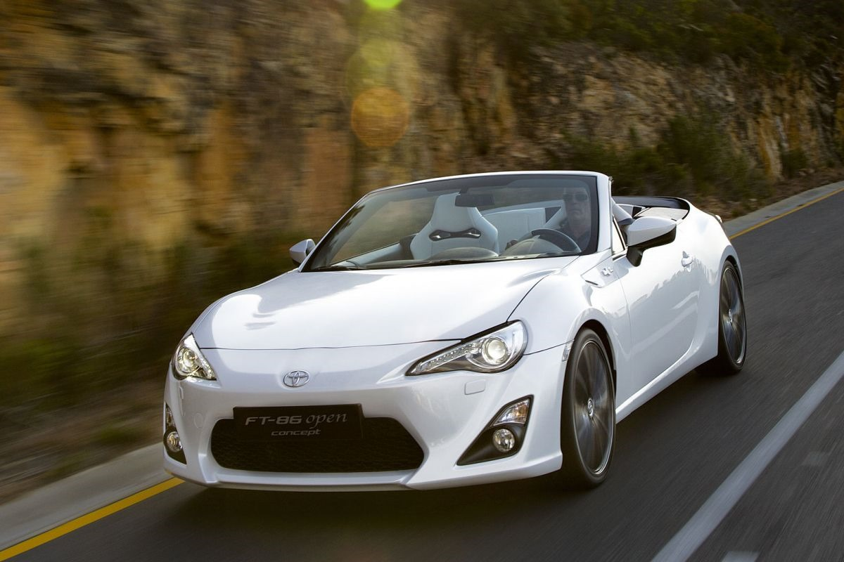 The Toyota Ft 86 Open Top Concept Is Better Than A Miata