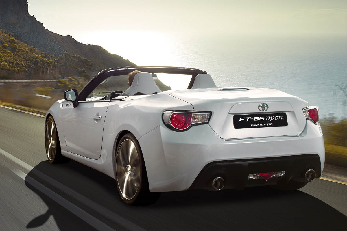 Toyota Camry Commercial Song >> The Toyota FT 86 Open Top Concept Is Better Than a Miata ...