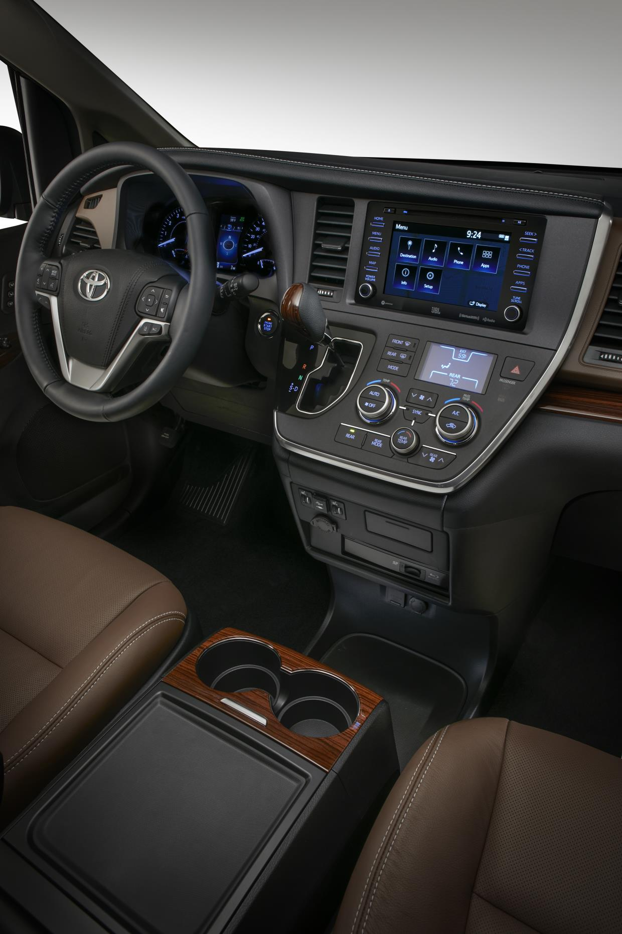 the toyota sienna is back for 2018 with more swag yaris also receives updates autoevolution. Black Bedroom Furniture Sets. Home Design Ideas