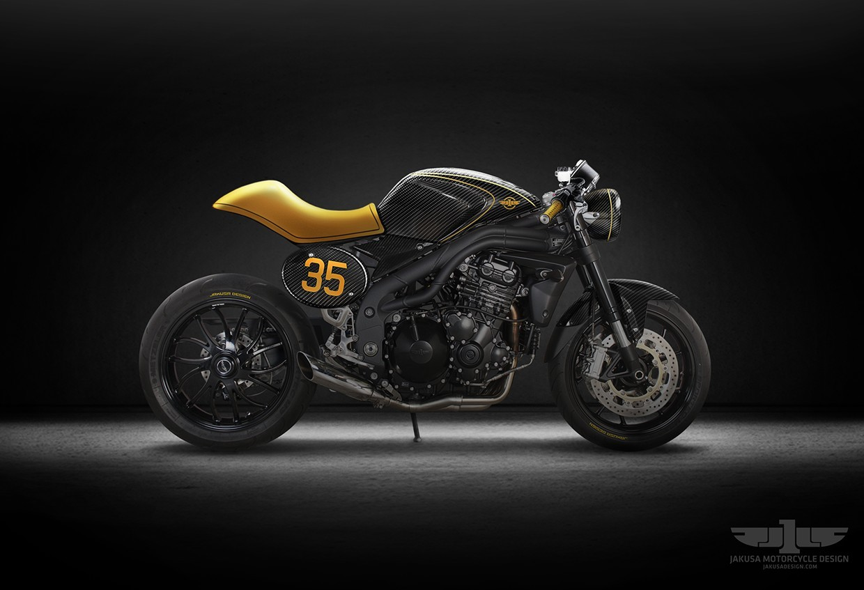 Go Mango Charger >> The Ultimate Triumph Roadster by Jakusa Design - autoevolution