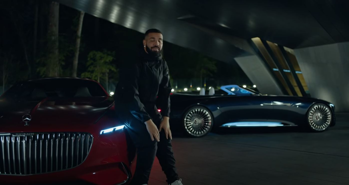 The Vision Mercedes Maybach 6 Cabriolet Is The Real Star Of Drake S New Video Autoevolution