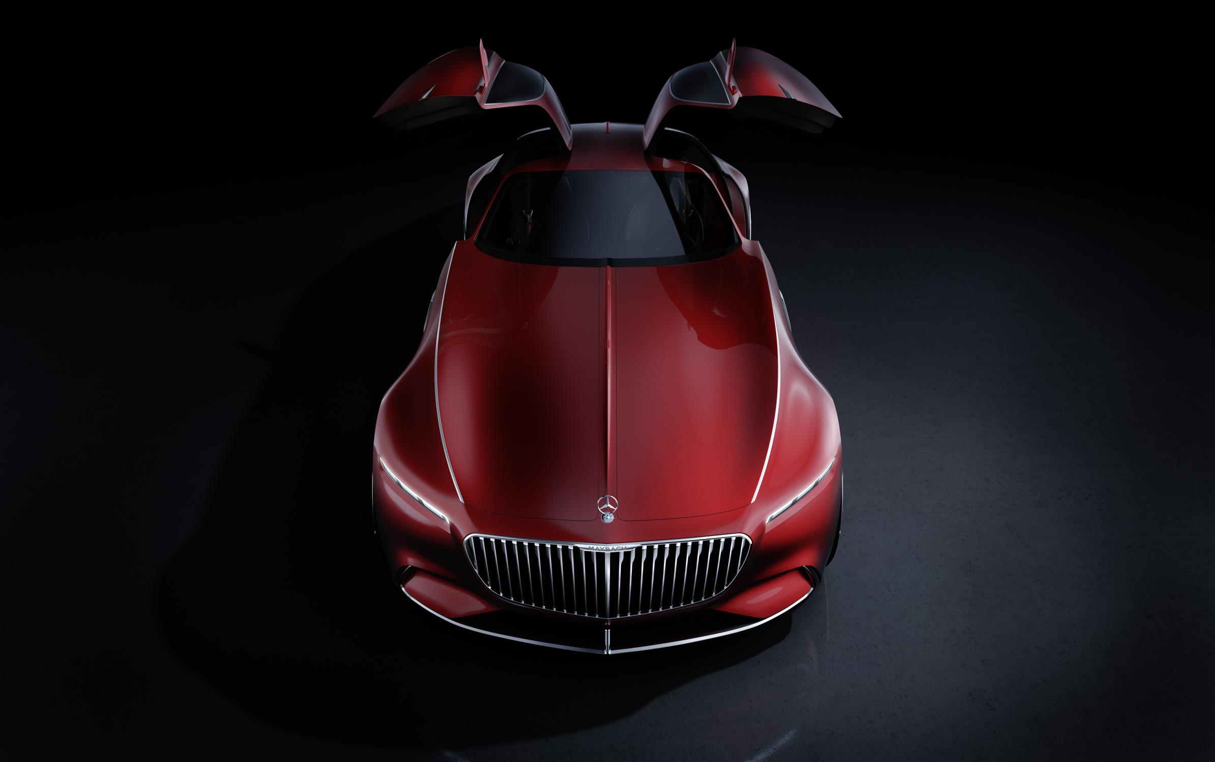 The Vision Mercedes Maybach 6 Is Actually A Drone