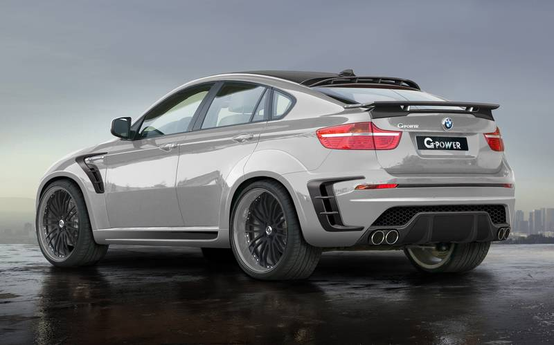 The World S Fastest Suv G Power Bmw X6 Typhoon Rs V10