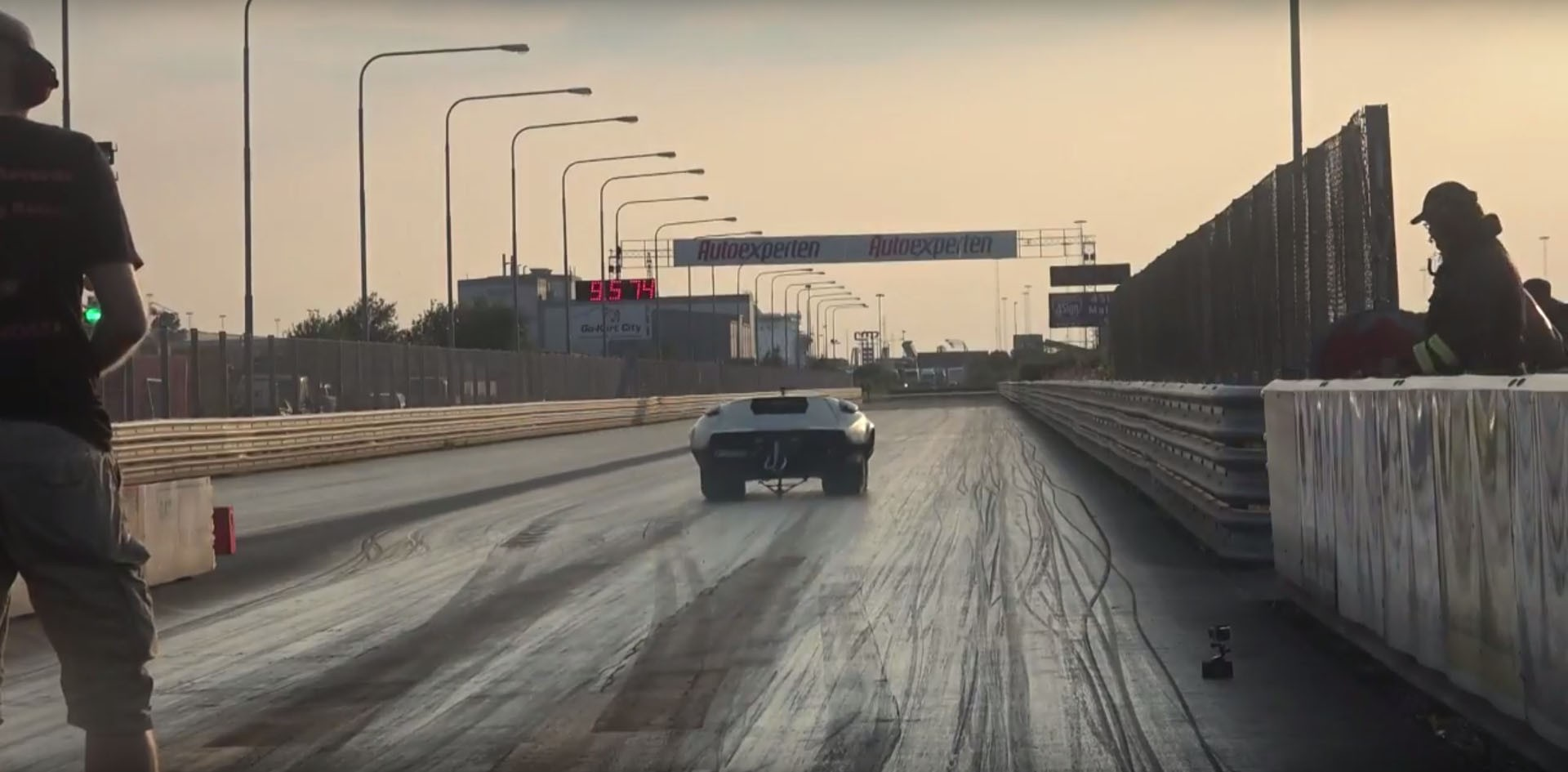 The World's Quickest Electric Car on 1/8-Mile Posts