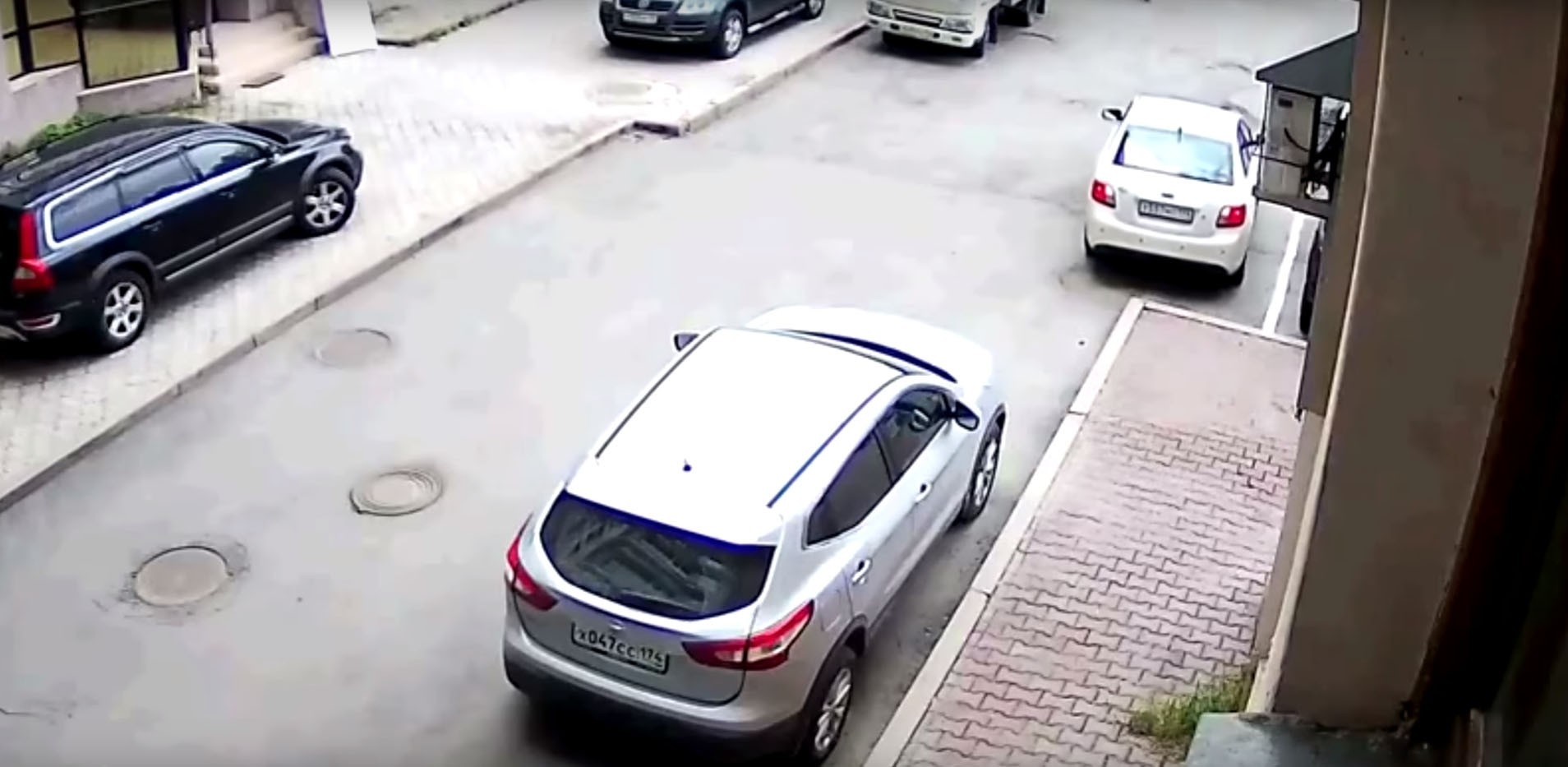 That Feeling When You Buy a Small Car for Easy Parking and You Still ...