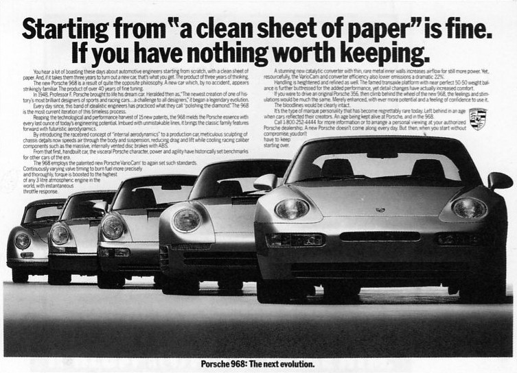 These Are The Best Porsche Print Ads Ever Photo Gallery on Internal Combustion Engine Design