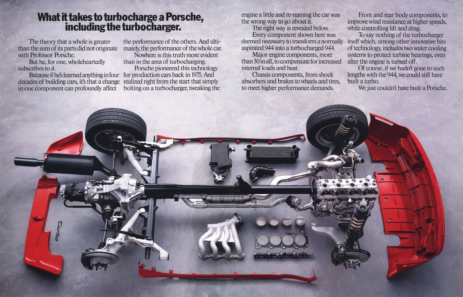 Porsche 928 Engine Diagram Not Lossing Wiring 1984 These Are The Best Print Ads Ever Autoevolution Intake Vacume Lines