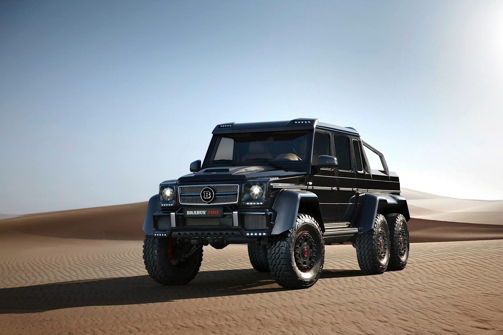These Brabus 700 6x6 Images Will Make You Wish For a Sandstorm ...