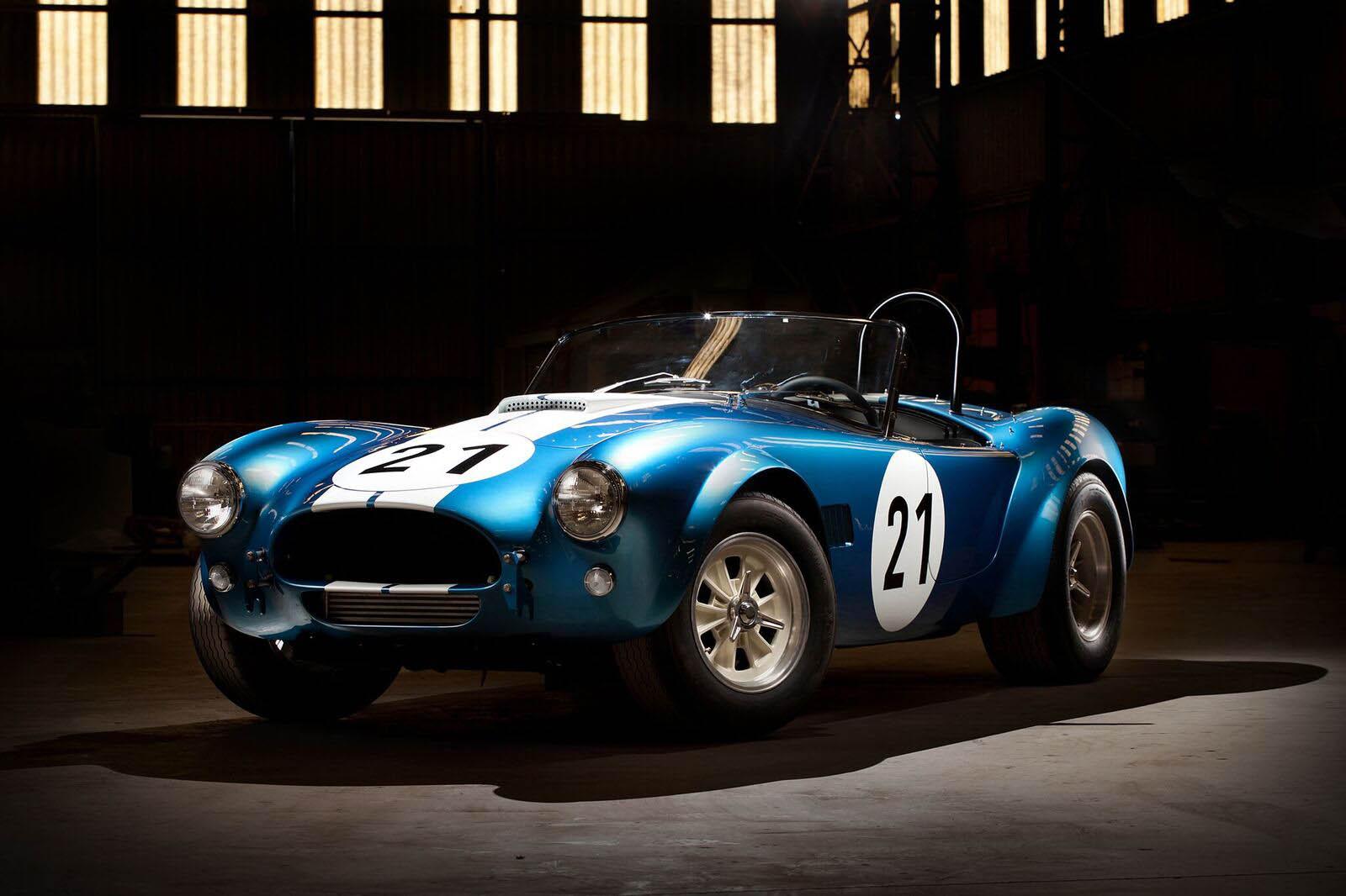 These Shelby Cobra Continuation Models Honor Bob Bondurant's Driving School - autoevolution