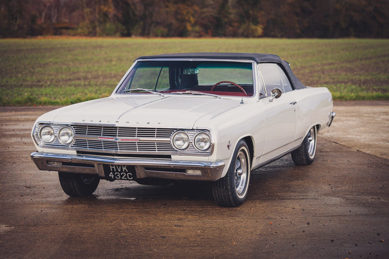 1965 Chevy Malibu Ss Will Put A Vintage Convertible Smile On Uk S Dreary Weather Autoevolution