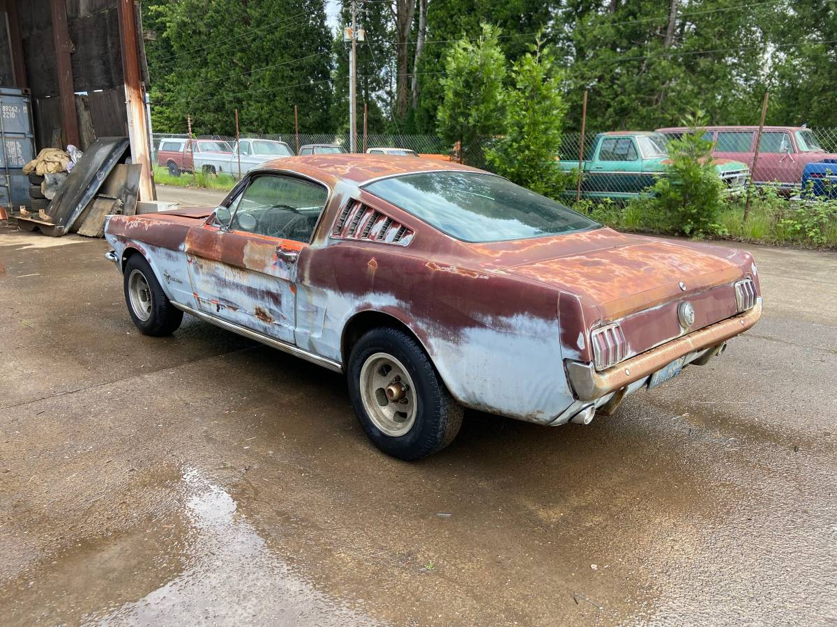 This 1966 Ford Mustang Is a True Survivor, Has Been Parked ...