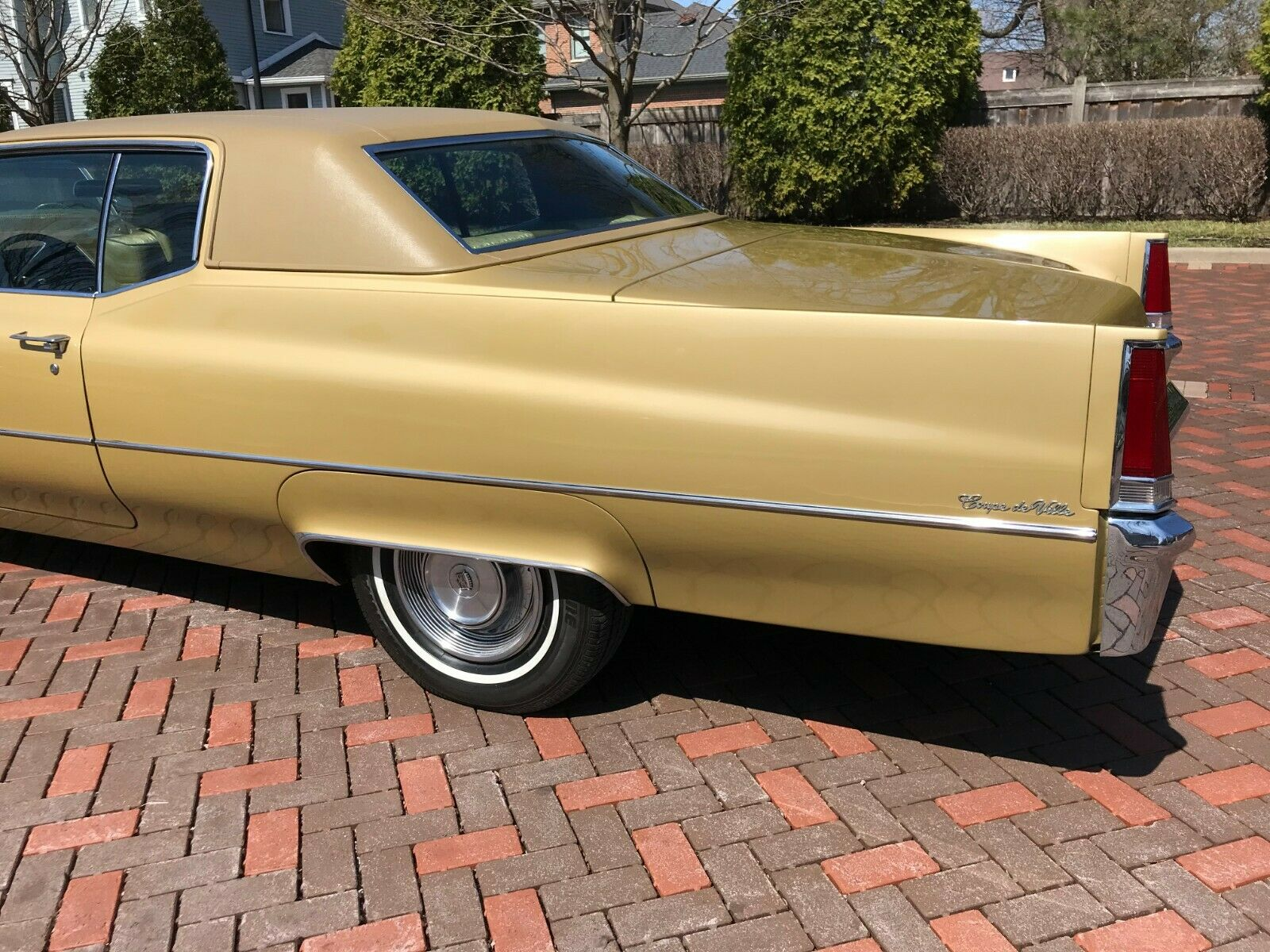 this 1969 cadillac coupe deville looks just like a brand