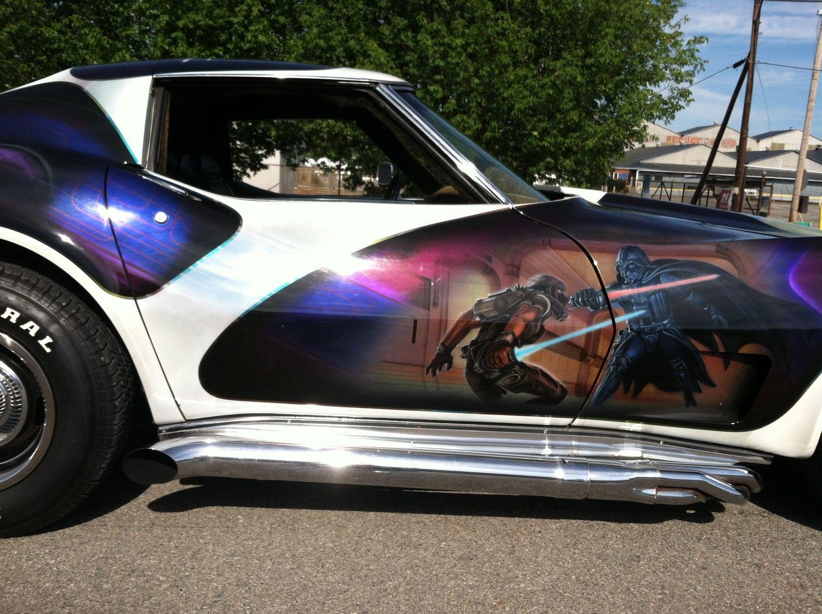 This 1974 Chevrolet Corvette Star Wars Sold For 10 300 On