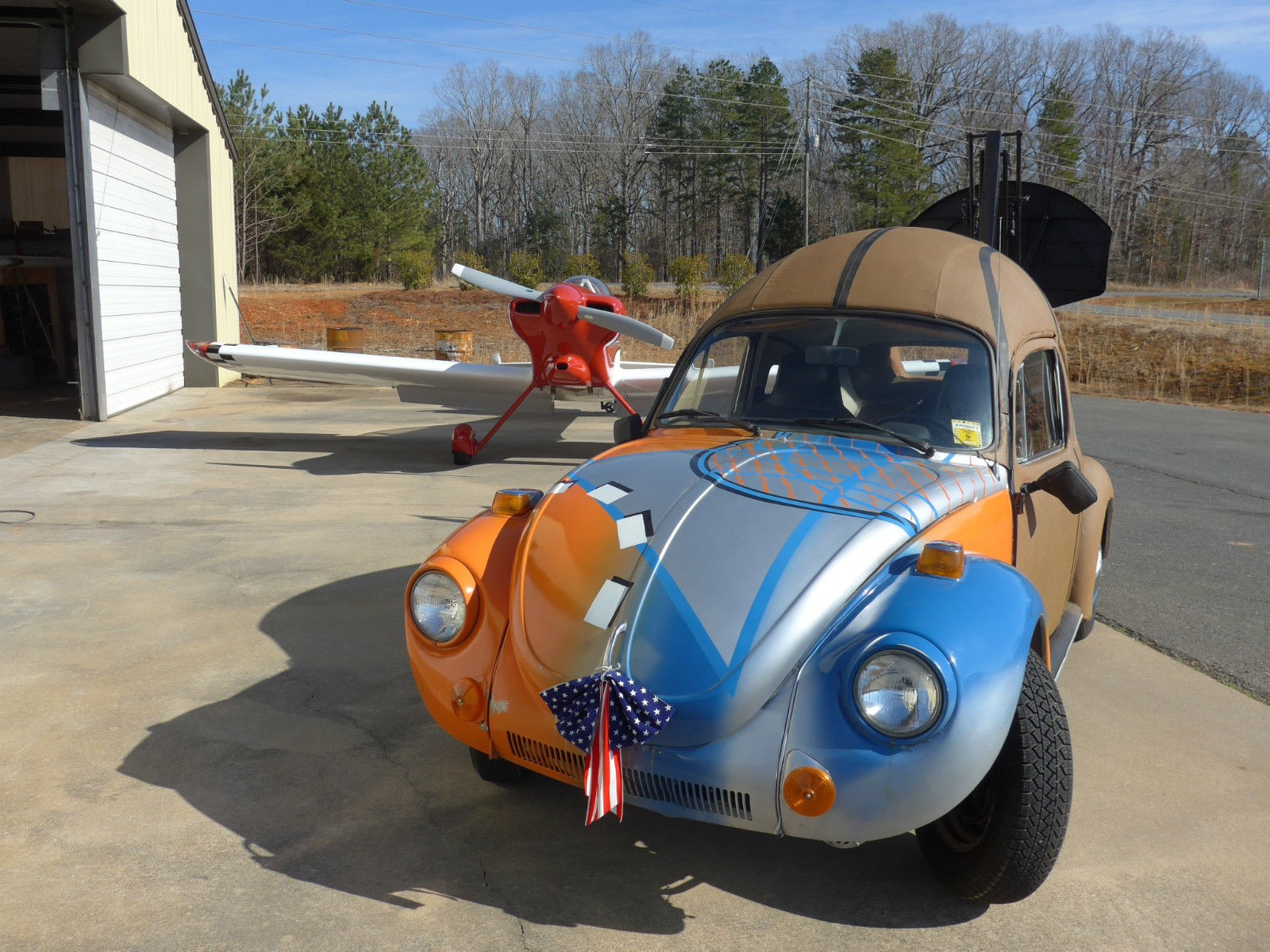 This 1975 basketball inspired volkswagen beetle didn t meet the reserve