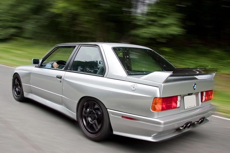 this 1989 bmw e30 m3 has a 5 7 liter v10 under the bonnet. Black Bedroom Furniture Sets. Home Design Ideas