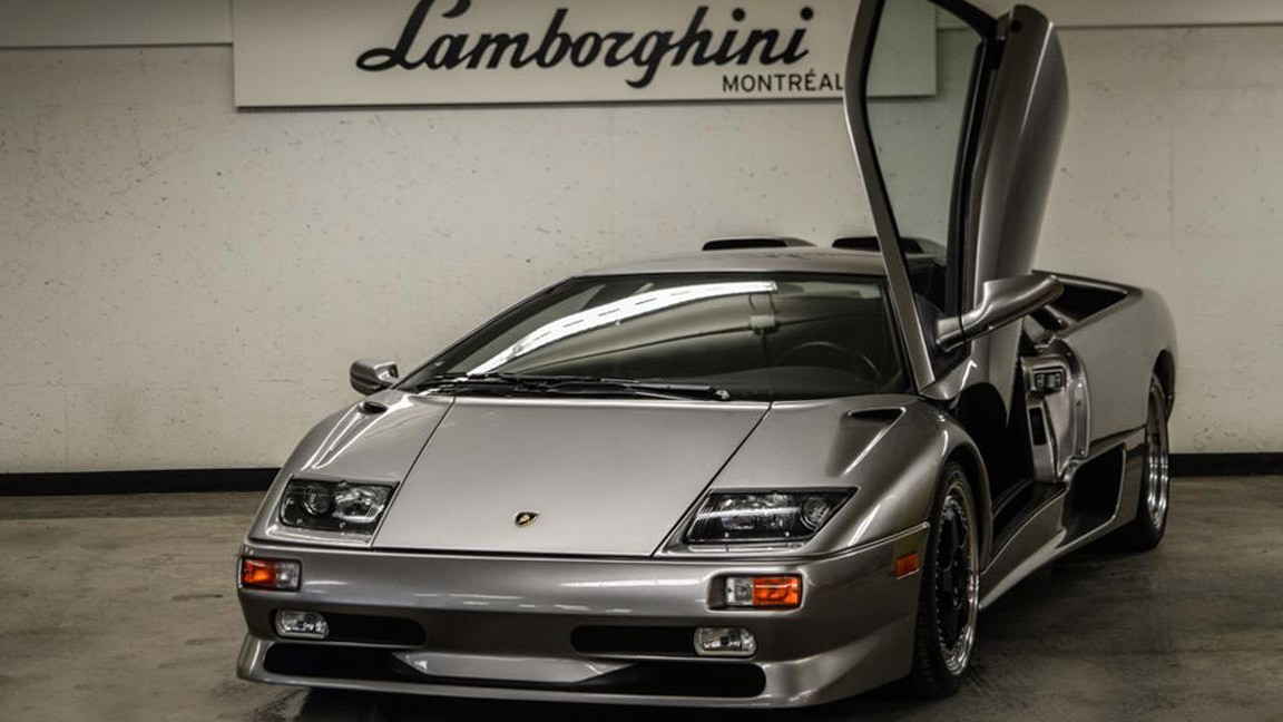 This 1999 Lamborghini Diablo Superveloce Has 1 Mile On The