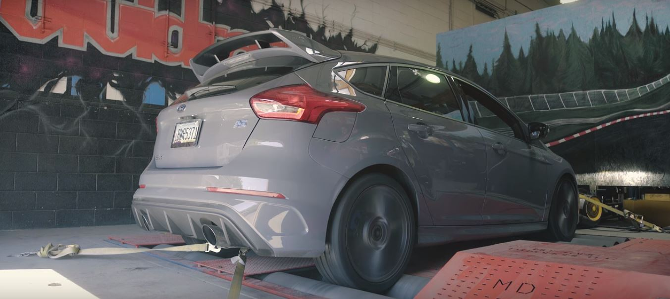 This 2016 Ford Focus Rs Wants To Be A 0 60 Mph Hero Autoevolution