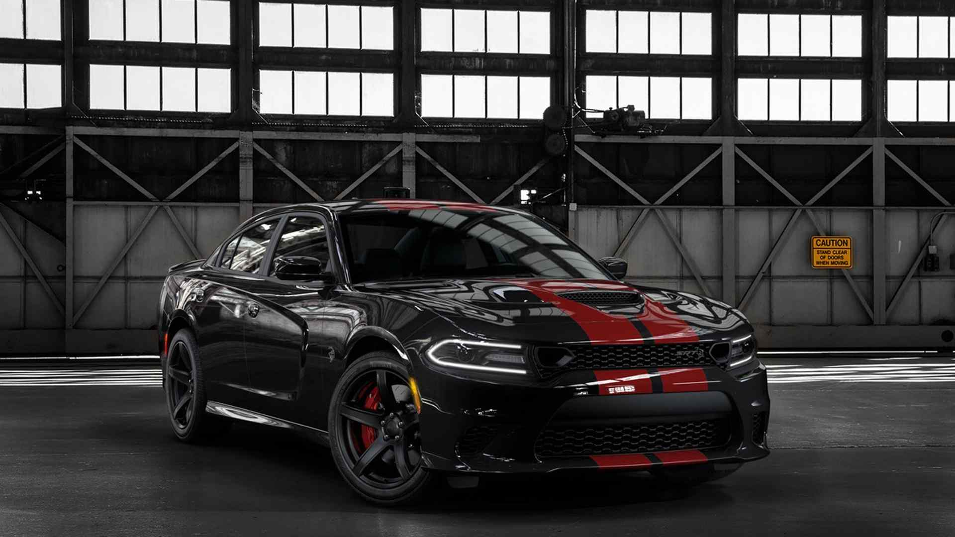 This 2019 Dodge Charger Srt Hellcat Looks Like A Shelby Mustang With